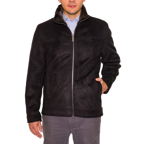 Nautica Mens Faux Fur Lined Jacket
