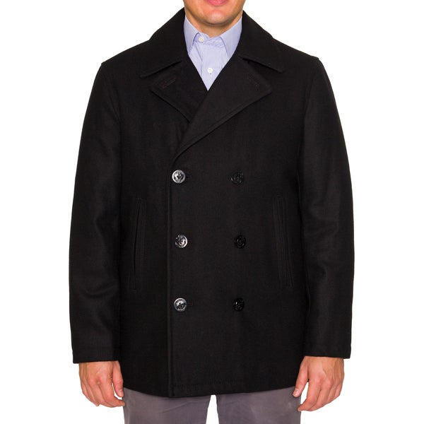 Nautica Mens Classic Wool Pea coat