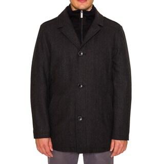Nautica Mens Single Breasted Pea Coat