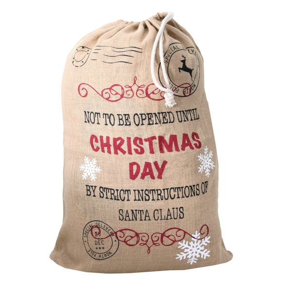 Christmas Day Santa Sack