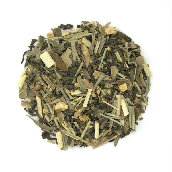 Teas Etc Lemon Ginger Snap Organic 16-ounce Loose Leaf Green Tea