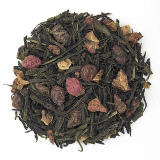 Champagne and Berries Organic 16-ounce Loose Leaf Green Tea