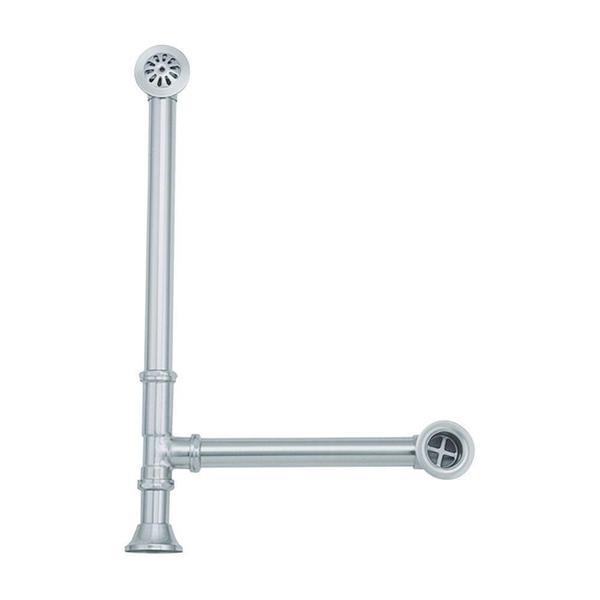Elizabethan Classics 1.5-inch OD Lift & Turn Tub Drain in Polished Brass