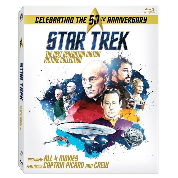 Star Trek: The Next Generation Motion Picture Collection (Blu-ray Disc) 16749894