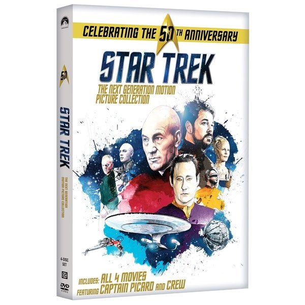Star Trek: The Next Generation Motion Picture Collection (DVD) 16749895