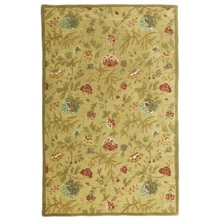 Hand-tufted Antique Wool Rug (8' x 11')