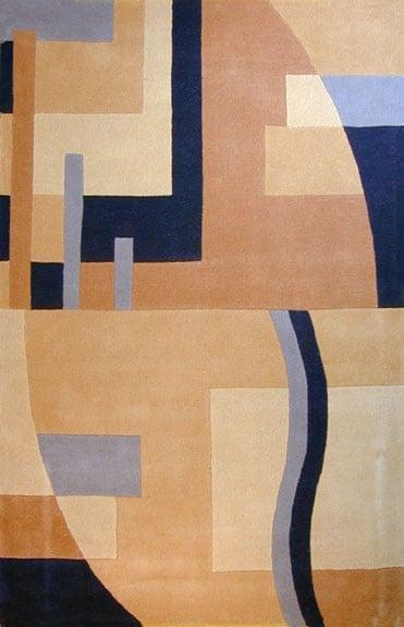 Hand-tufted Harmony Tan/ Taupe Wool Rug (8' x 11')