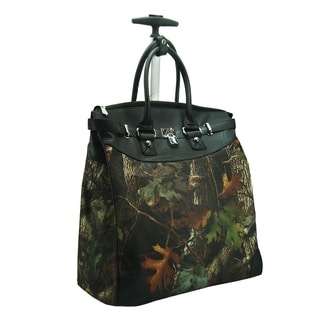Rollies Camouflage Rolling 14-inch Laptop Travel Tote