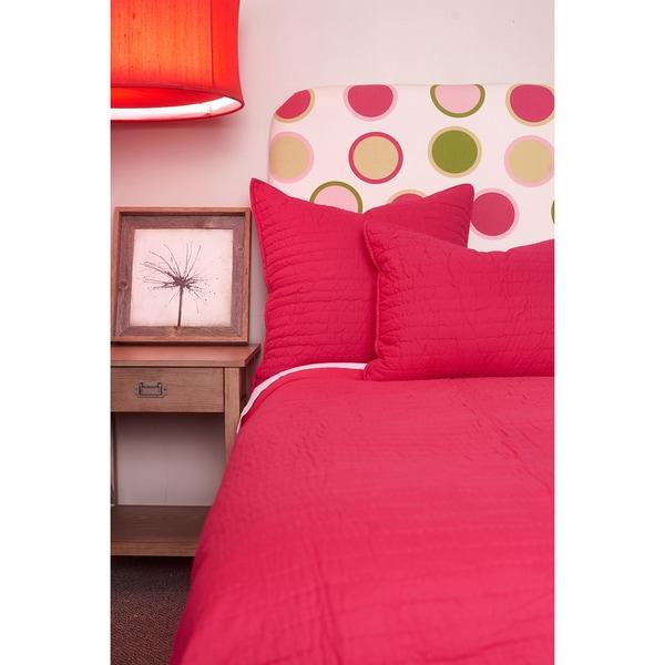 Basic Cotton Quilt Set Pink