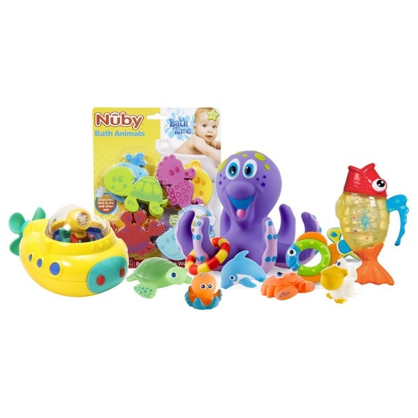 Summer Infant Tub Time Under The Sea Bath Toy Set