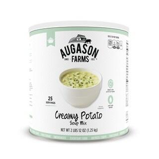 Augason Farms Creamy Potato Soup Mix #10 Can 3 Pack