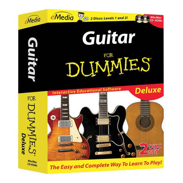 Guitar For Dummies Deluxe 2 CD-ROM Set