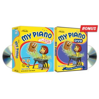 My Piano CD-ROM and DVD 2-pack