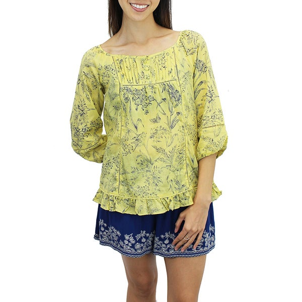 Botanist's Sketch Blouse