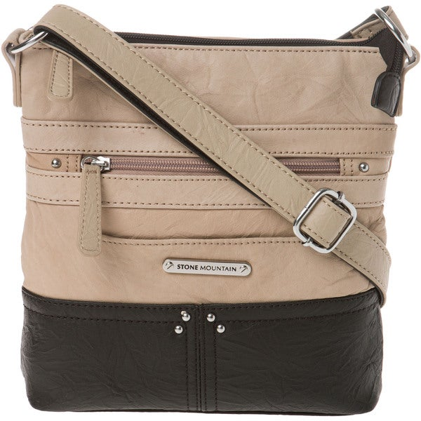 Stone Mountain Lisette Leather Crossbody (As Is Item)