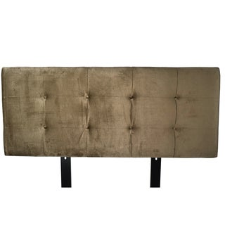 MJL Furniture Ali Button Tufted Ennis Coffee Upholstered Headboard