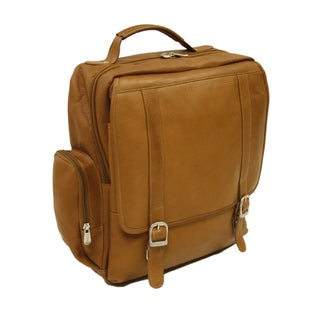 Piel Leather Vertical Laptop Backpack