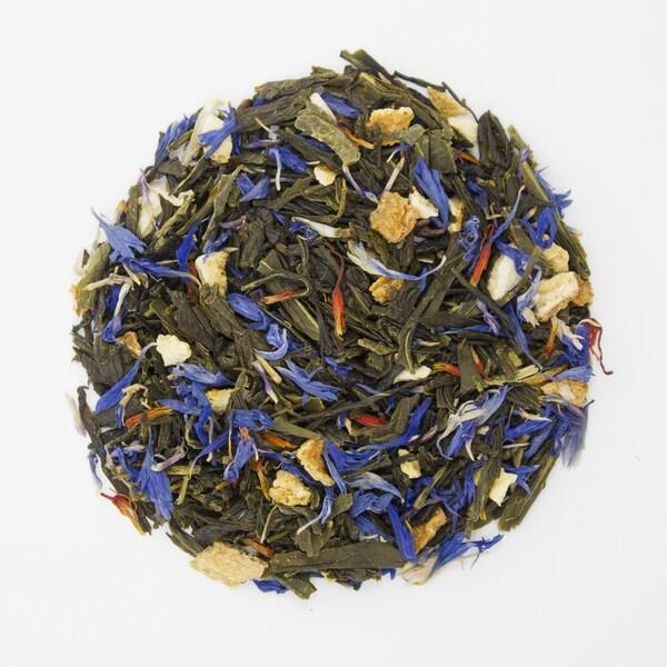 Teas Etc Earl Grey Organic 16-ounce Loose Leaf Green Tea