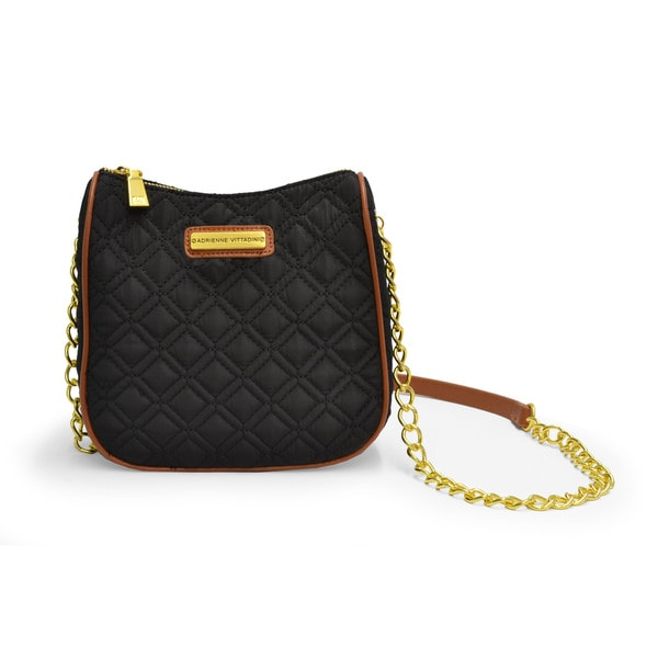 Adrienne Vittadini Quilted Crossbody Bag