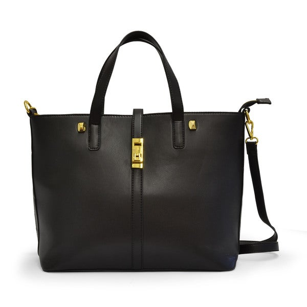 Adrienne Vittadini Vegan Leather East West Tote