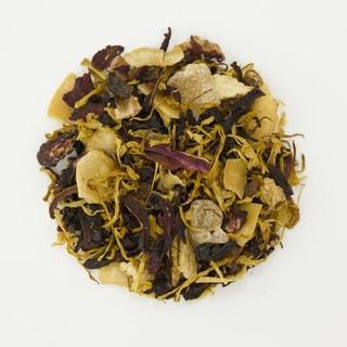 Teas Etc Caribbean Dream 16-ounce Loose Leaf Herbal Tea