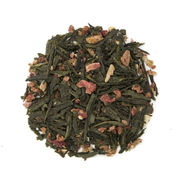 Teas Etc Strawberry Kiwi 16-ounce Loose Leaf Green Tea