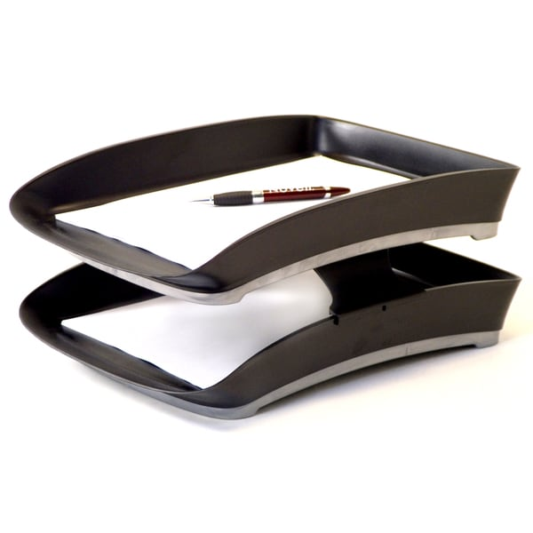 Storex Letter Tray Stackers (Case of 6)