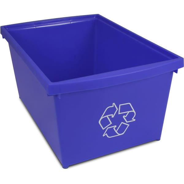 4 Gallon (15L) Recycle Bin (Case of 6)