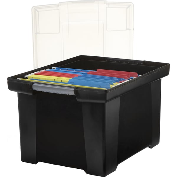 Storage File Tote with Comfort Grips