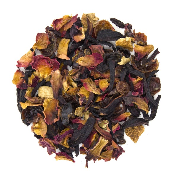 Teas Etc Raspberry Rose Petal 16-ounce Loose Leaf Herbal Tea