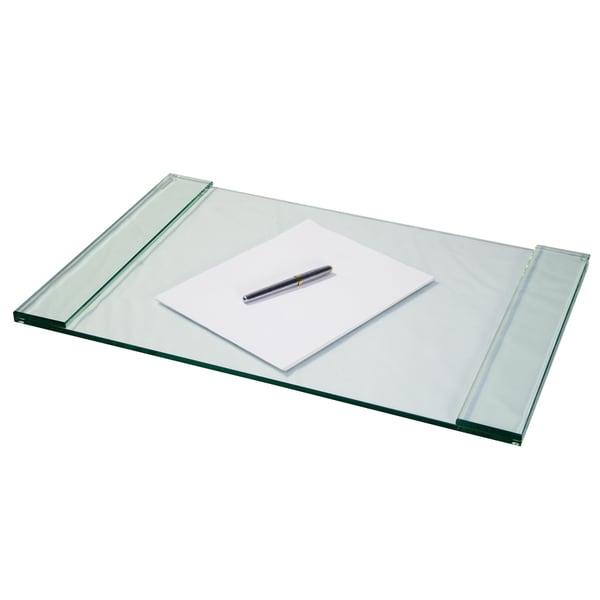 Storex Glass Desk Blotter - 17895818 - Overstock.com ...