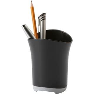 Storex Rubber Grip Pencil Cup (Case of 6)