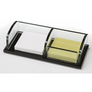 Storex Glass Note/ Clip Holder