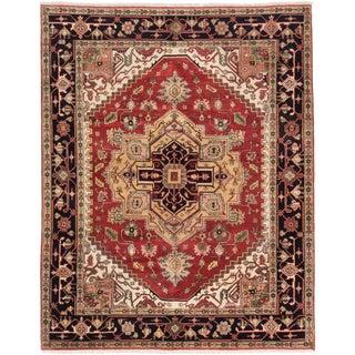 ecarpetgallery Serapi Heritage Orange Wool Rug (8' x 10')