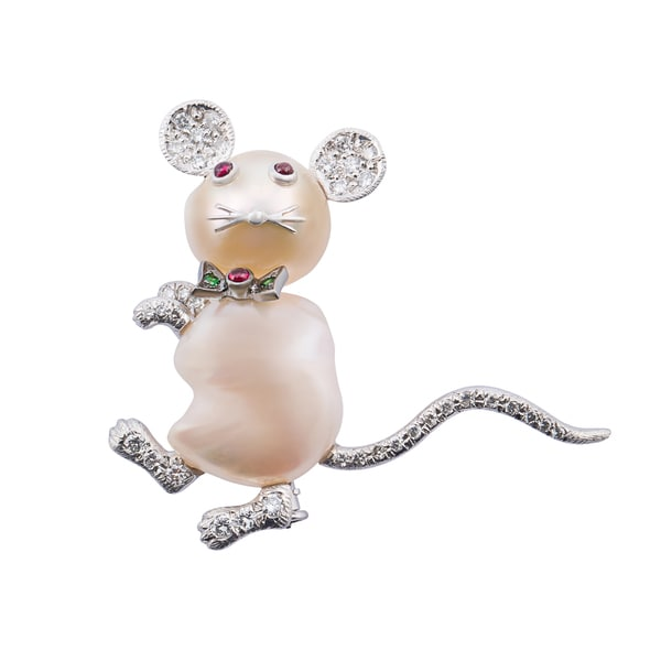Kurt Wayne Gemstone Mouse Pin