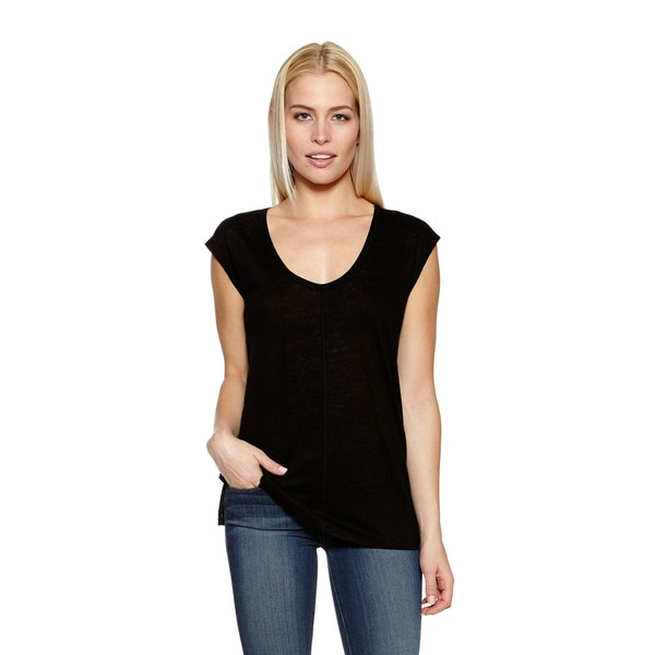 Joie Women's Ivria Cap Sleeve Top