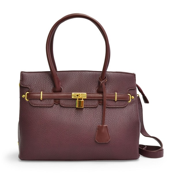 Adrienne Vittadini Vegan Leather Medium Satchel