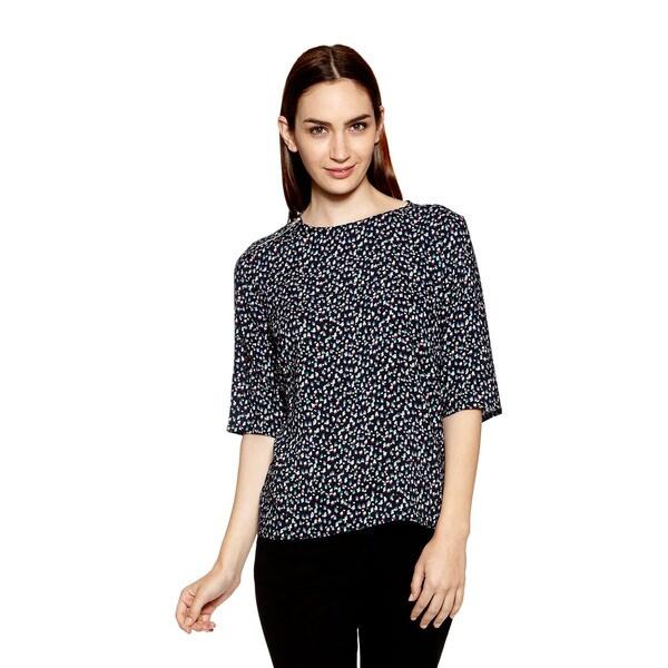 Women's Palo Short Sleeve Top with Drape Back