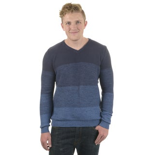 Vance Co. Men's Cotton V-neck Sweater