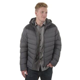 Vance Co. Men's Colorblocked Puffer Coat