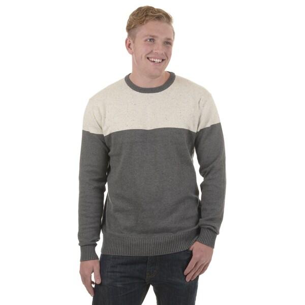 Vance Co. Men's Cotton Crew Neck Sweater
