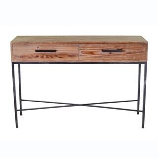 Handmade Elegant Reclaimed Wood Console (Thailand)