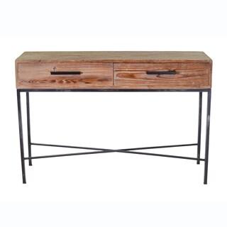 Elegant Reclaimed Wood Console