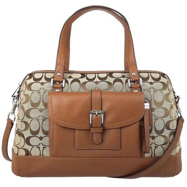 Coach Charlie Signature Satchel