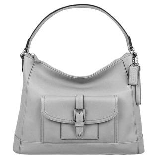 Coach Charlie Leather Hobo Handbag