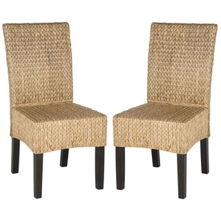Safavieh Rural Woven Dining Luz Natural Side Chairs (Set of 2)