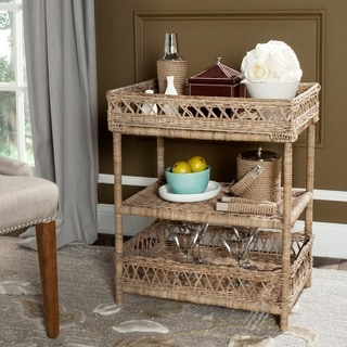 Safavieh Ajani Grey 3 Tier Rack