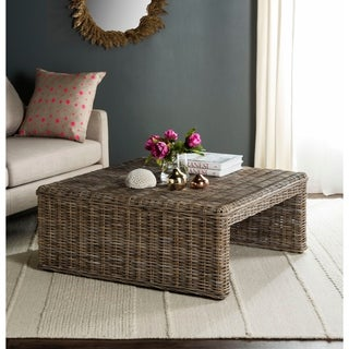 Safavieh Persis Natural Rattan Table
