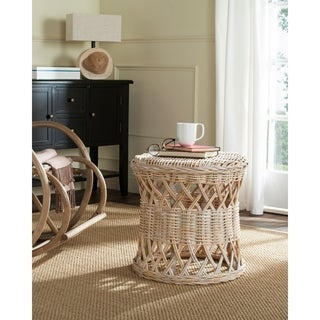 Safavieh Desta Natural Rattan Round Table