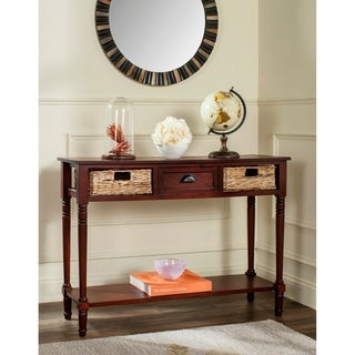 Safavieh Christa Cherry Console Storage Table